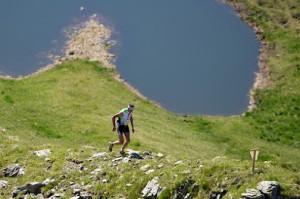 International SkyRace Carnia - Passaggio al Laghetto dei Floriz