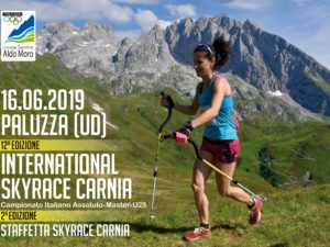 Tracciatura dell'International Skyrace Carnia ultimata